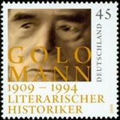 Tyskland - Golo Mann - Postfrisk frimærke