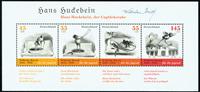 Tyskland - Tegneserie - Postfrisk miniark