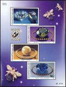 Thailand - Belgica 01 - Postfrisk miniark