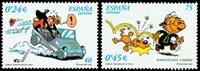 Spanien - Tegneserie - Postfrisk sæt 2v