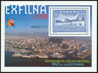 Spain - Exhibition - Souvenir sheet mint