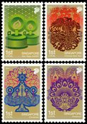 Singapore - Festivals 2010 - Mint set 4v