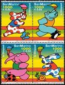 San Marino - OL - Postfrisk sæt 4v