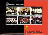 Saint Marin - AC Milan - Bloc-feuillet neuf