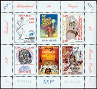 Monaco - Cirque - Bloc-feuillet neuf