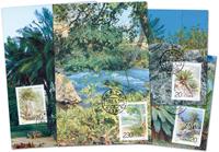 Kina - Træer - Maxikort