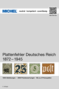 MICHEL - German Empire, Plate flaws 1872-1945 - Stamp catalogue