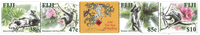 Fiji - Abens år - Postfrisk sæt 4v