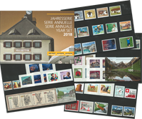 Suisse - Collection annuelle 2018 - Coll.Annuelle