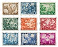 Duitse Rijk - 1933 - Michel 499/507, postfris