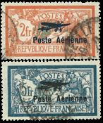 France 1927 - YT YTA1-2 - Oblitéré