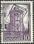Danmark - AFA 273 stemplet
