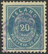 Island - AFA 14B stemplet