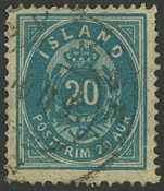 Island - AFA 14 stemplet