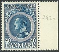 Danmark - AFA 292x ubrugt