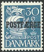 Danmark - AFA 17 postfærge postfrisk