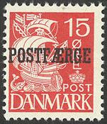 Danmark - AFA 16b postfærge postfrisk