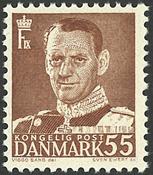 Danmark - AFA 327 postfrisk