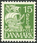 Danmark - AFA 257a postfrisk