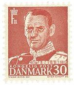 Danmark 1952 - AFA 337 - Postfrisk