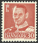 Danmark - AFA 337 postfrisk