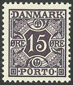 Danmark 1937 - Portomærke - AFA Porto 36a - Postfrisk