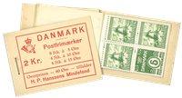 Danmark - AFA 4 2 kr. hæfte postfrisk