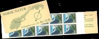 Norge - AFA 741 postfrisk hæfte