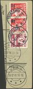 Îles Féroé - AFA 4 pos. 96 obl. sur coupure