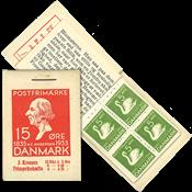 Danmark - AFA 2 postfrisk 2 kr. hæfte