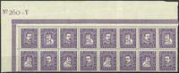 Danemark - AFA 136-139 bloc de 16 neuf