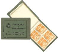 Danemark - Carnet neuf 2 kr. AFA 1