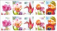 Sverige - Tulipaner - Postfrisk hæfte