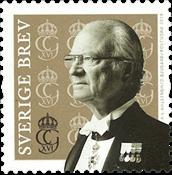 Suède - Roi Karl Gustaf - Timbre neuf