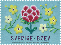 Suède - Pouvoir de l'Artisanat - Timbre neuf - Timbre neuf