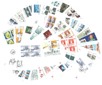 Greenland - 165 different First Day Covers