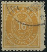 Island - AFA 4B stemplet
