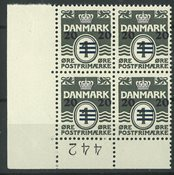 Færøerne - AFA 2A i nedre marginal fireblok