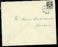 Îles Féroé - AFA 2A sur lettre