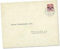 Îles Féroé - AFA 3 sur lettre
