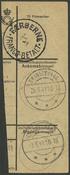 Færøerne - AFA 10 franco håndstempel