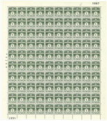 Danmark - AFA 196a 63 postfriske ark