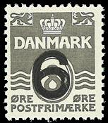 Danmark - AFA 262a postfrisk
