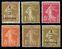 France - YT 277A-279B - Neuf