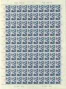 Suomi 1940 - LAPE n:o 236 - Punainen Risti 3½mk+35p - Suomen lippu, arkki