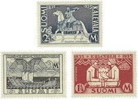 Finland - 1935 - LAPE nr. 191-93
