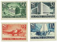 Finland - 1938 - LAPE nr. 213-16