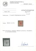 Suomi 1875 - LAPE n:o 11