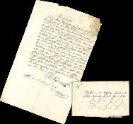 Suomi 1826 - Meander-kirje, ruotsinkielinen, ohjauskirjaimella G