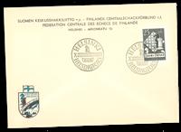 Finland - 1952 - Skakolympiade - LAPE nr. 412